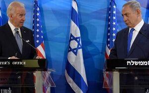 نتانیاهو: از بایدن ناراحت نیستم - کراپشده
