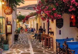 عکس/ جزیره محبوب یونان