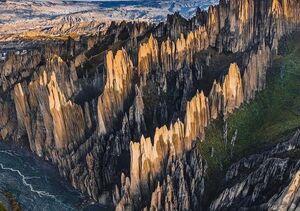 عکس/ نمایی از طبیعت بکر بولیوی