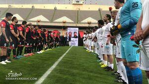 عکس/ تونل ستارههای فوتبال برای میناوند و انصاریان