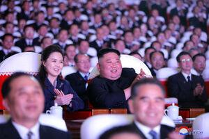 عکس/ همسر رهبر کره شمالی به مجامع عمومی بازگشت