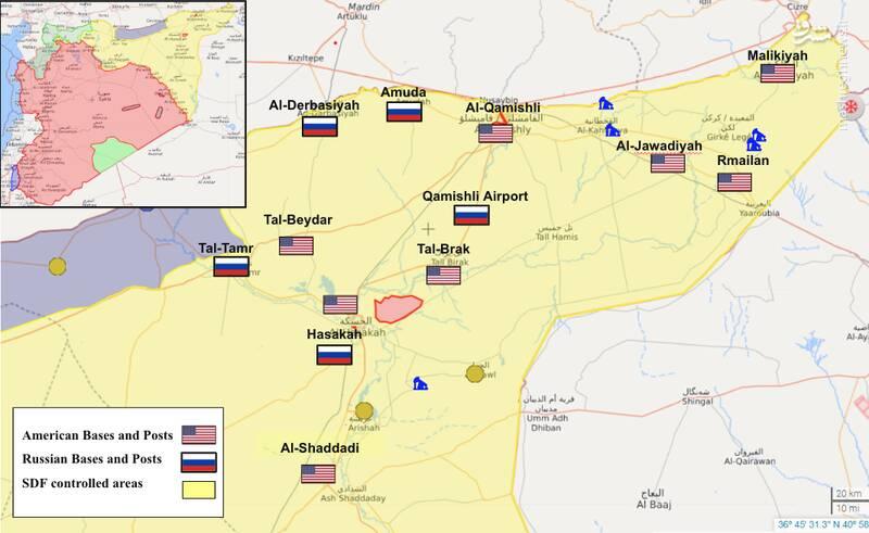 راهبرد جدید دموکراتها برای کنترل شرق سوریه / تلاش امریکا برای جلوگیری از ورود روسیه به مناطق نفتخیز شرق فرات
