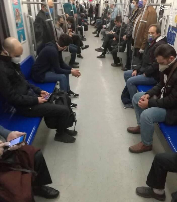 اینجا مترو لندن یا پاریس نیست+عکس