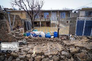 تصاویر جدید از خسارات زلزله در سیسخت