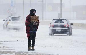 ساکنان تگزاس گرفتار در سرما و خاموشی