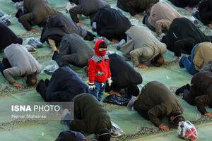 عکس/ اقامه نماز جمعه پس از یک سال در اصفهان