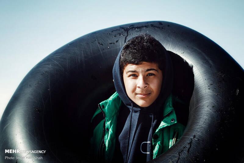 تیوپ سواری با چاشنی کرونا - همدان