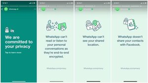 واتساپ بیانیه جدیدی درباره سیاست حریم خصوصی خود منتشر کرد