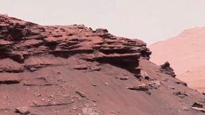 تصاویری که به صورت زنده از سطح مریخ ارسال شد