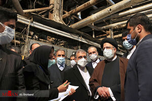 عکس/ بازدید رئیس قوه قضاییه از کارخانه قند یاسوج