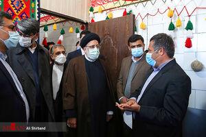 عکس/ بازدید رئیس قوه قضاییه از زندان یاسوج