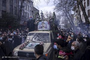 عکس/ تشییع پیکر پاک شهید مصطفی نوروزی