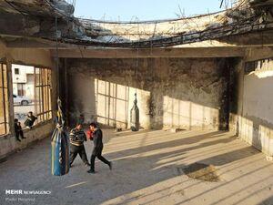 عکس/ تمرین بوکس جوانان سوری