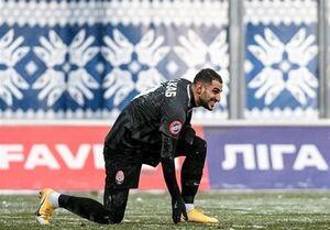 لیگ برتر اوکراین| پیروزی زوریا با نخستین گل شهاب زاهدی
