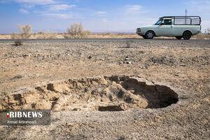 عکس/ زلزله خاموش در دشتهای استان سمنان
