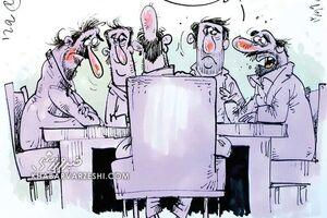 کاریکاتور/ نتیجه جلسه هیئت مدیره استقلال درباره فکری!