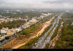 عکس/ پنجمین شهر بزرگ ایران را از بالا ببینید