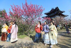 عکس/ جلوه بهاری مناظر چین