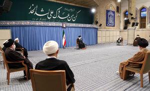 عکس/ دیدار اعضای خبرگان با رهبرانقلاب