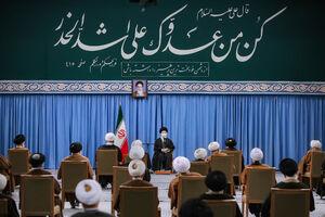 عکس/ترجمه حدیث نصبشده در حسینیه امام خمینی(ره)
