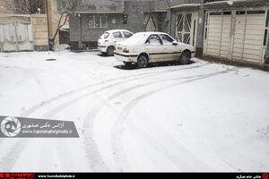 عکس/ بارش برف در ارومیه