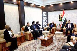 رایزنی سفیر ایران و وزیر عراقی درباره همکاریهای مشترک