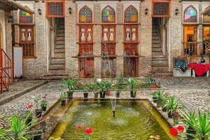 نمای ایرانی به این زیبایی چه ایرادی داره؟+عکس