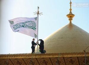عکس/ تزئینات حرم علوی در آستانه میلاد امام علی (ع)
