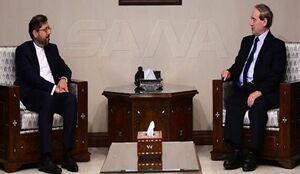 گفتوگوی خطیبزاده با مقامهای سوری در دمشق