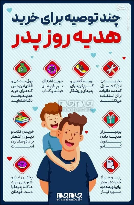 چند توصیه برای خرید هدیه روز پدر