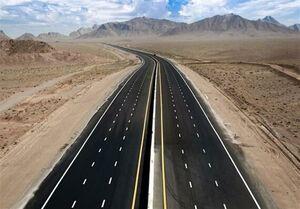 بهره برداری از طرح ملی آزادراه غدیر به طول ۱۵۸ کیلومتر