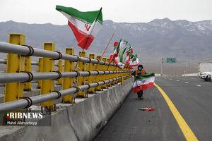 عکس/ افتتاح آزاد راه غدیر