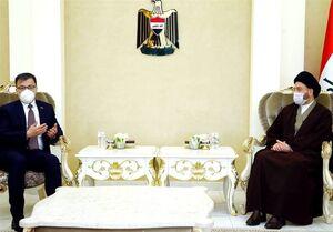 عراق| رایزنی حکیم با سفیر چین/ تاکید بر لزوم کاهش تنش در منطقه