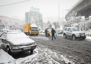 ۱۶ استان کشور درگیر برف و باران