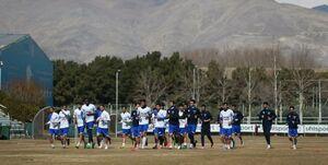 با وجود ادعای مددی؛استقلالی ها باز هم در کمپ تیمهای ملی تمرین کردند