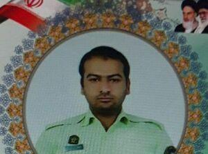 عکس/ آرامگاه ابدی شهید حمله اشرار مسلح