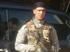 عکس/ تنها شهید حمله تروریستی آمریکا به مرز سوریه و عراق