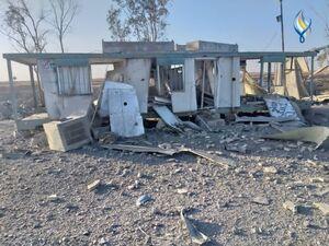 تصاویر جدید از محل بمباران جنگندههای آمریکا