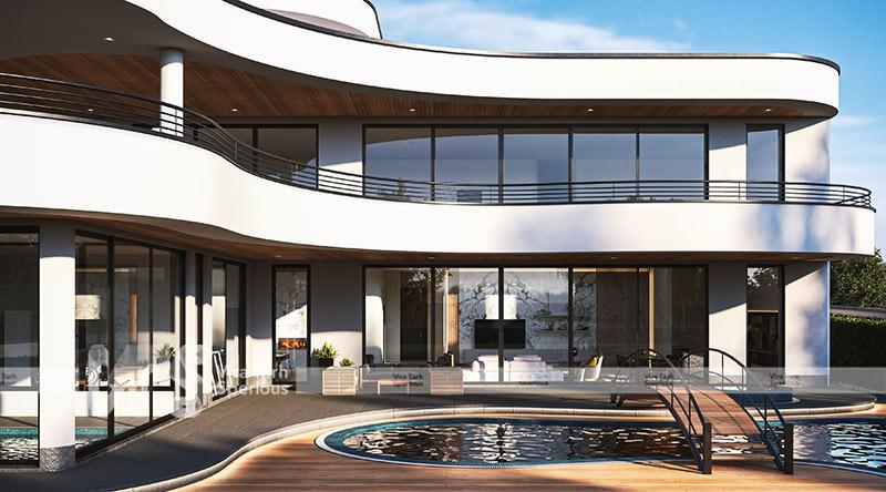 صفر تا صد طراحی ویلا مدرن در شرکت ویرا طرح اسپرلوس