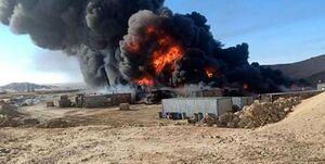 انفجار در پایگاههای ائتلاف سعودی در شهر مأرب یمن