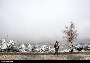 کولاک و یخبندان در ۴ استان کشور