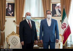عکس/ دیدار وزیر خارجه عراق با علی شمخانی