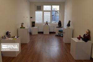 عکس/ نمایشگاه عروسکهای ماه پیشانی