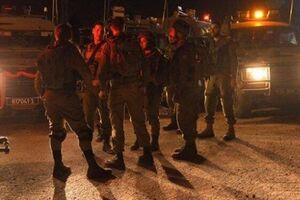 حمله وحشیانه نظامیان صهیونیست به زن فلسطینی +فیلم