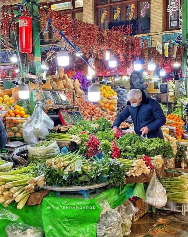 عکس/ بازار روز تجریش