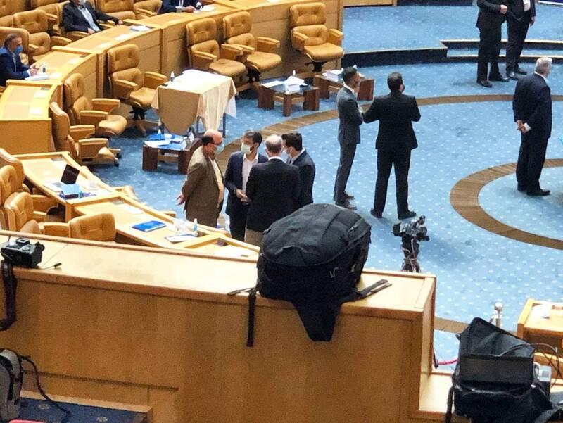 عکس/ جلسه معاون وزیر با نبی و اسکوچیچ