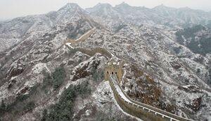 عکس/ حال و هوای برفی در چین