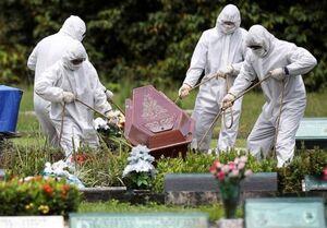 کرونا در جهان/ مرگ ۱۲۸۳ آمریکایی در ۲۴ ساعت گذشته +جدول تغییرات
