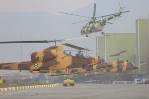 عکس/ تحویلدهی هواپیماها و بالگردهای بازآمد شده به نیروهای مسلح