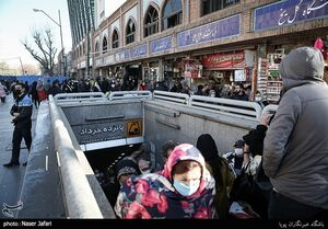عکس/ بازار تهران در روزهای هشدار